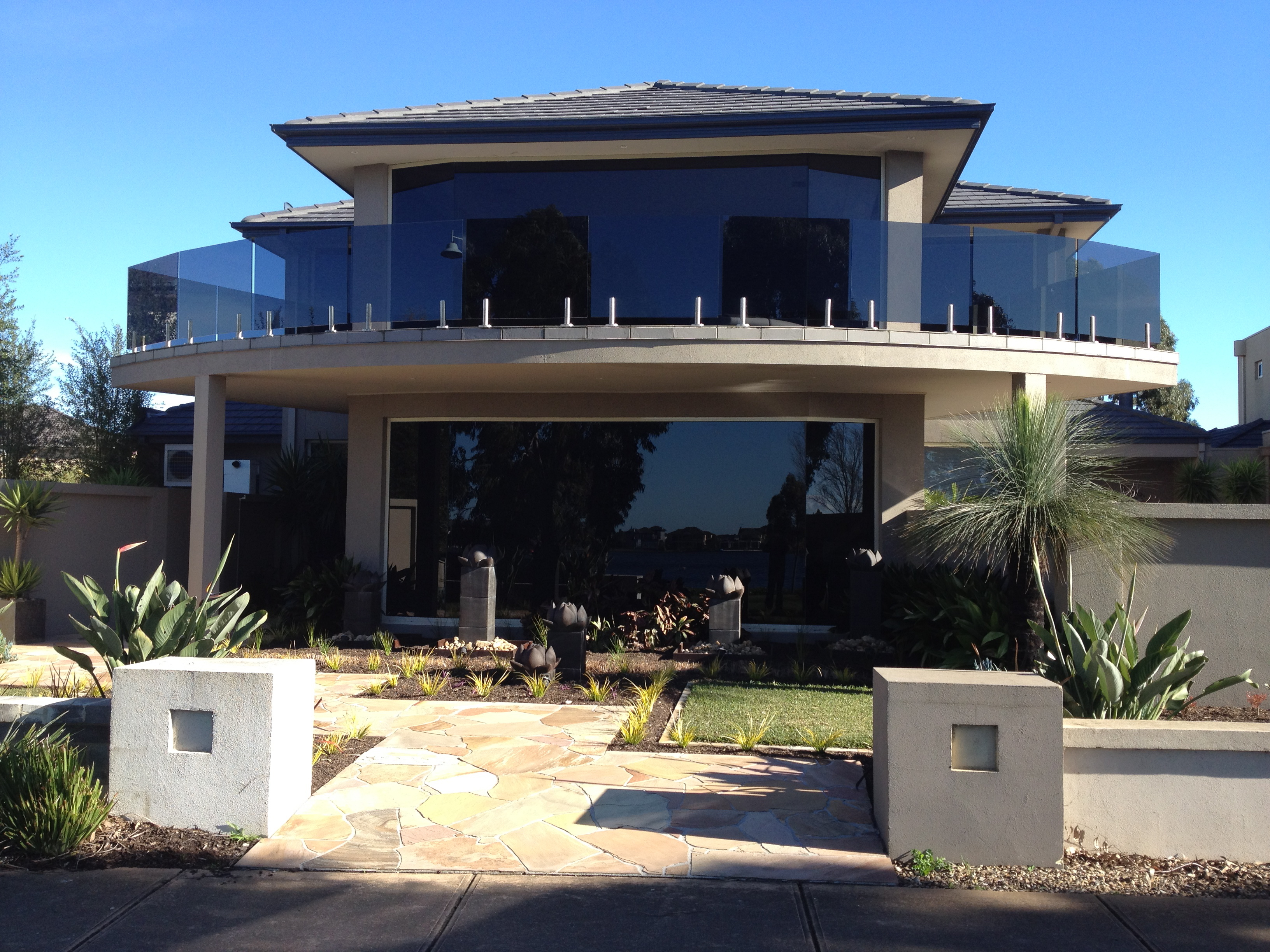 Window and glass tinting in melbourne vic for Home front door tint